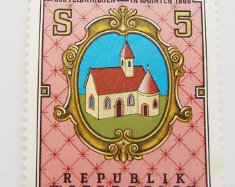 The Republic of Austria Postage One Stamp.1988