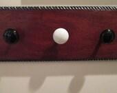 Vintage Doorknob Coat Rack