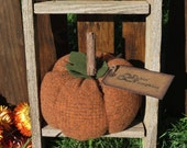 Primitive Wool Pumpkin Harvest Pumpkin Decoration