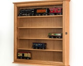 Lionel Train O Scale Display Cabinet