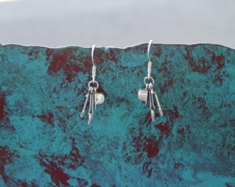 Helmet Cap Crop and Stirrup Charm Horse Earrings Sterling Silver,Equestrian Jewelry