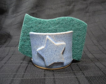 Kitchen Sponge Holder with Star