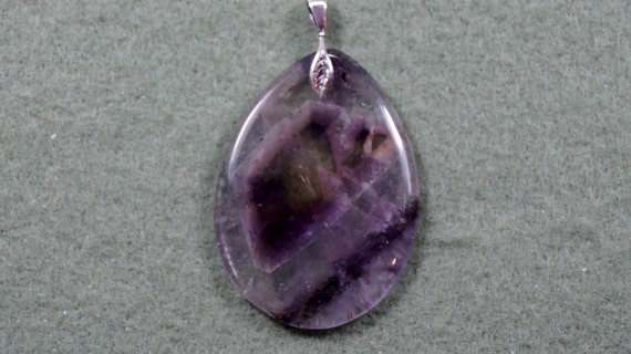 Auralite 23 Crystal Pendant With Sterling Silver By