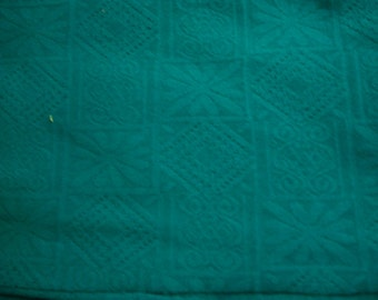 DESTASH Teal heavy knit FABRIC
