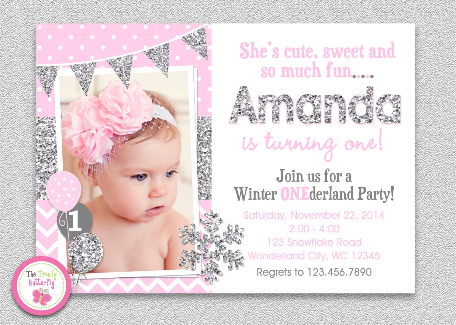winter one derland birthday invitations radiotodorock.tk