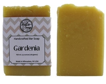 Gardenia Handmade Bar Soap