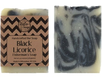 Black Licorice Anise Essential Oil Bar Soap