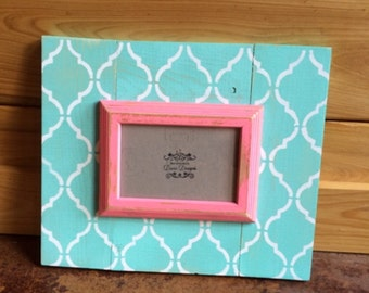 Distressed 4x6 Picture Frame