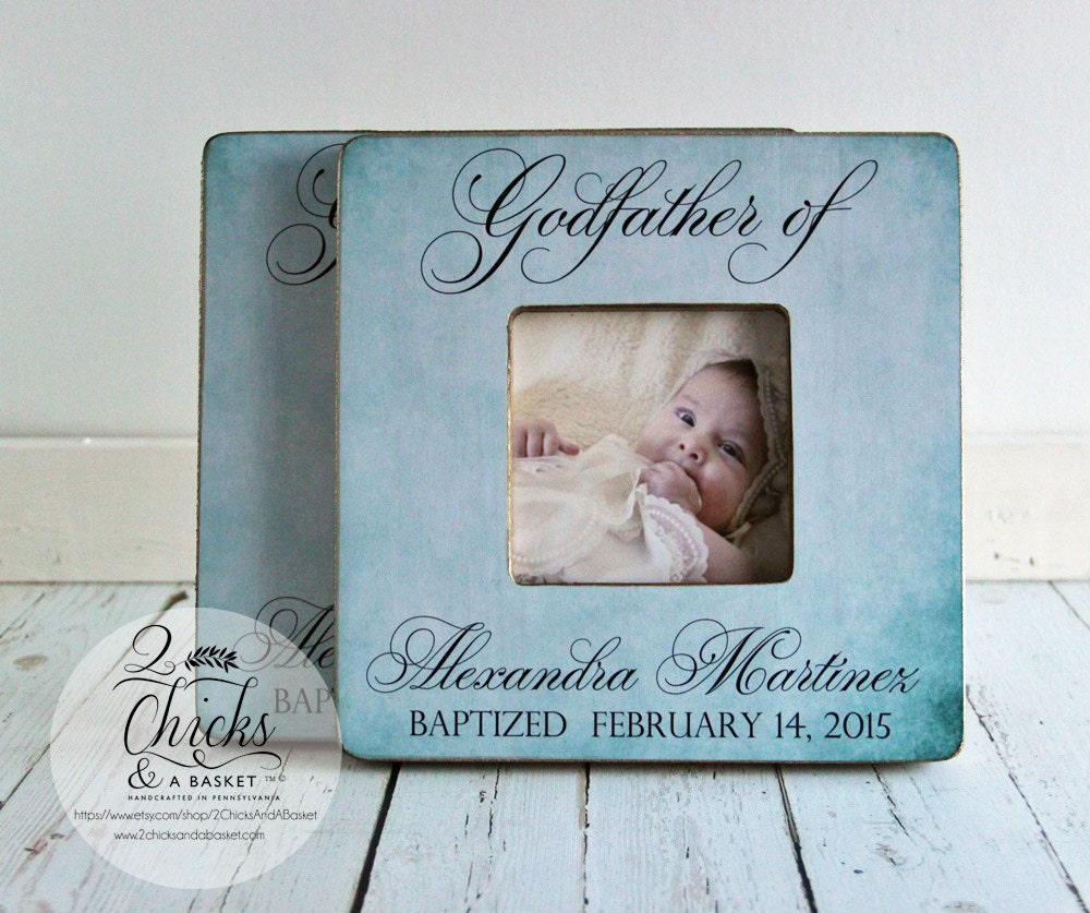 Godparent gift personalized baptism picture frame set of 2 godparent gift personalized baptism picture frame set of 2 godmother godfather frames baptism gift idea godparent picture frame jeuxipadfo Choice Image