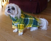 Green Bay Packers Dog coat, Woofy Wear by Wendy(TM), available in 3 sizes, 6 styles