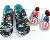 10% OFF! - no 726 Kaley Mom & Baby's Sneakers PDF Pattern