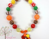 CLEARANCE Turkey Chunky Necklace