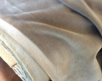 "18"" x 18"" piece vintage Taupe Cotton VELVET by cheswickcompany"