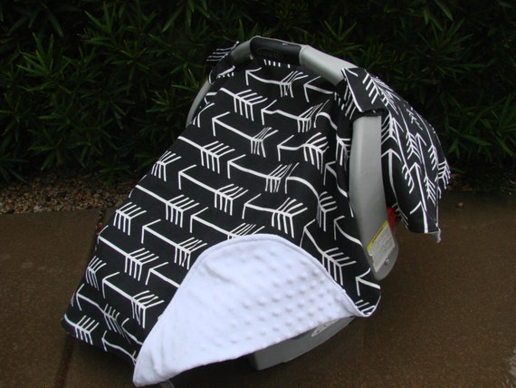 Like this item? & Baby Car Seat Cover Baby Car Seat Canopy Black and White