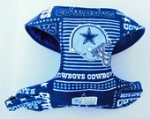Dallas Cowboy Comfort Soft Dog Harness - Made to order -