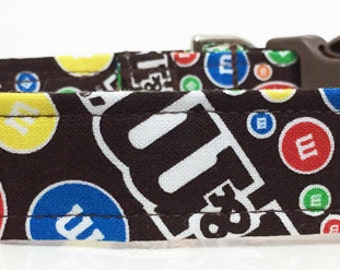 M&M Adjustable Dog Collar - Made to Order -
