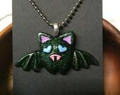 Kawaii Bat Resin Necklace (2)