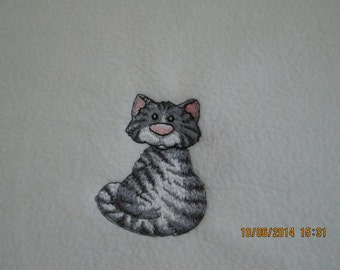 Kitty Blanket- Chair cover or cuddle blankie