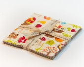 "Happy Harvest 5"" Squares Charm Pack by Doodlebug Design for Riley Blake, 18 pieces"