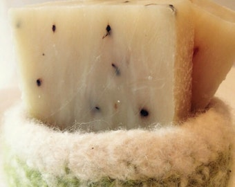 LAVENDER LOVE Soap --Organic Ingredients- By Dirt Tribe
