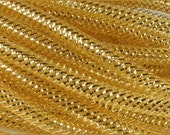 8mm Gold Gold Foil RE300445,  Flex Tubing, Poly Mesh Supplies (10 Yards)