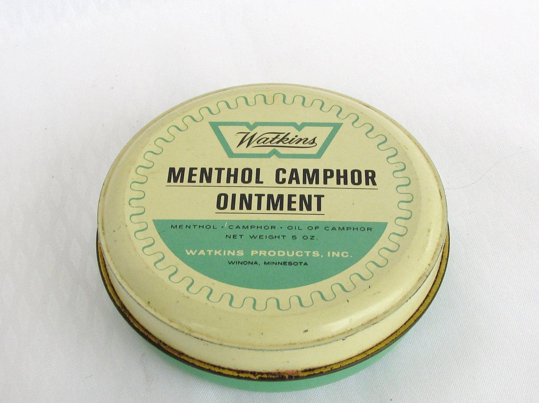 Camphor and menthol
