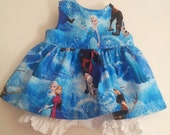 "Disney Frozen Baby Alive  And Waldorf Doll Clothes Adorable Dress 10"" 12"" Or 15"""