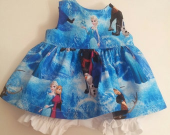"""Disney Frozen Baby Alive  And Waldorf Doll Clothes Adorable Dress 10"""" 12"""" Or 15"""""""