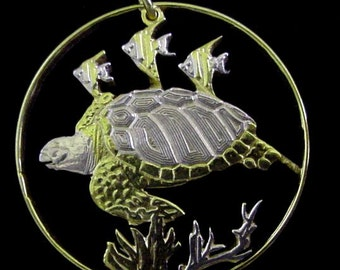 unique turtle pendant
