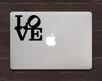 Love Vinyl MacBook Decal BAS-0216