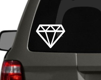 Diamond Vinyl Car Decal BAS-0271