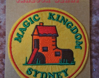 Magic Kingdom Sydney Souvenir Patch by The Felt Underground in the Lost Sydney series by Vanessa Berry