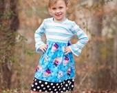 Disney Frozen Dress Anna Elsa Knit Top