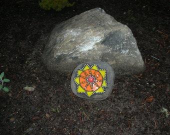 Mosaic Garden Rock