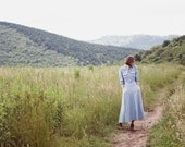 Field Dress // Long Chambray Dress with Pockets