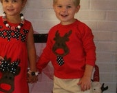 Reindeer Shirt for Toddler Youth Boys ... 3M 6M 12M 18M 24M 2T 3T 4T 5T 6 8 10 12
