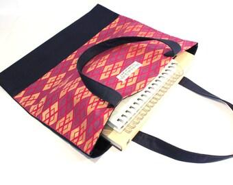 African fabric shopping bag, shoulder bag, tote bag, UK shop