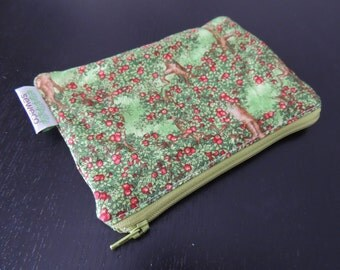 Orchard Zippered Reusable Snack Bag by GoSewEco