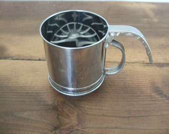 Small Vintage Kitchen Sifter
