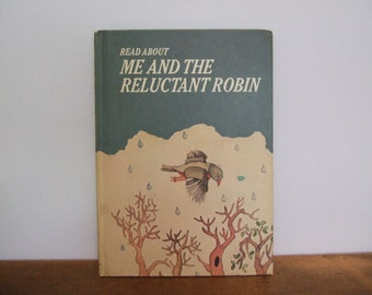 Read About Me and the Reluctant Robin - Personalized Vintage Book
