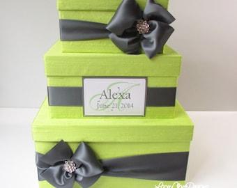 Wedding Card Box Money Holder Personalized and Custom Made