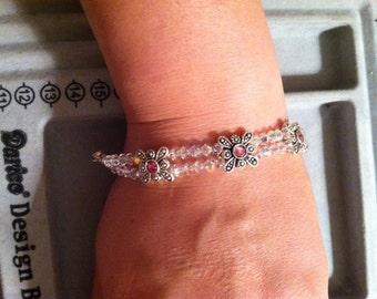 Swarovski in White (bracelet)