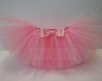 Baby Tutu- Infant Tutu- Tutu- Tutu Skirt- Newborn Tutu- Blush Pink Tutu- Girls Tutu- Light pink - Available In Size 0-24 Months