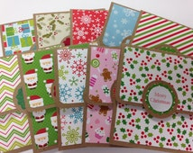 Christmas Gift Card Holders, Variety Pack Gift Card Holders, Employee Gift Idea, Coworker Gifts, Stocking Stuffer