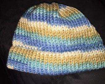 Adorable Knitted Infant Baby Hat for baby boys