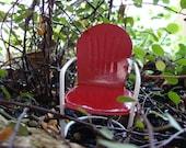 Fairy Garden, Retro Miniature Garden Chair