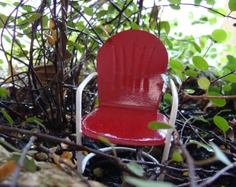 Fairy Garden, Retro Miniature Garden Chair
