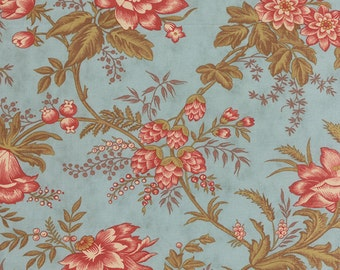 Atelier - Drapery in Aqua by 3 Sisters for Moda Fabrics