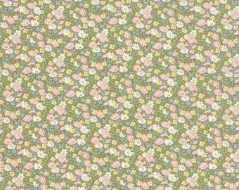 Ambleside - Small Floral in Cobblestone by Brenda Riddle for Moda Fabrics