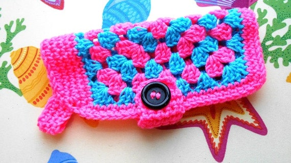 Free Crochet Granny Square Dog Sweater : Items similar to Crochet Granny Square Dog Sweater Easy to ...